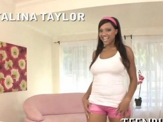 Of the first water pov blowjob session wide an ebony teen