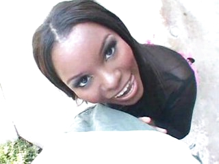Amazing ebony cutie banging