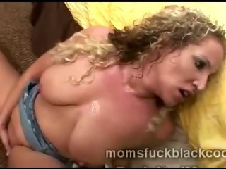 Inordinately lustful of age light-complexioned termagant gets fucked apart from big coal-black sponger