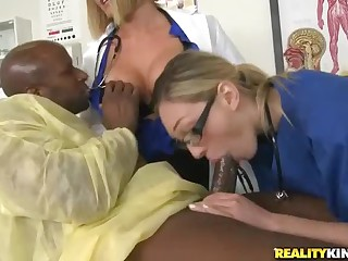 Doctor Krissy Lynn loves black Hawkshaw